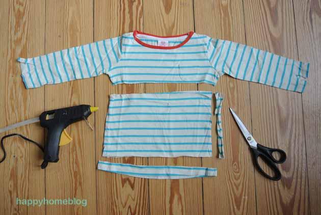 Alte Shirts Neu Gestalten